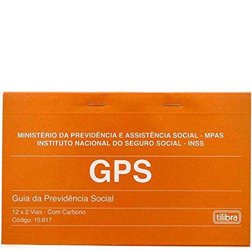 Carnê GPS - Guia da Previdência Social 12x2 Vias - 24 Folhas