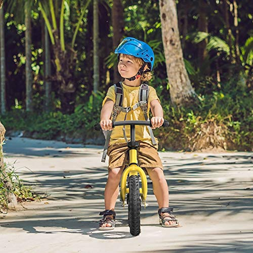TRIPLE TREE Balance Bike for Toddlers and Kids, Kids Training Bicycle with Inflation-Free EVA Tires, Adjustable Handlebar and Seat for Toddlers 2 Years to 5 Years, Yellow Color…