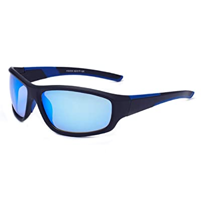 EFE Polarized Sports Sunglasses For Men and Wom...