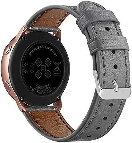 HQTUAN UTHAI 20mm Genuine leather For watchband Samsung W Galaxy ...