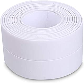 Goolsky Self-adhesive Caulk Strip Moisture-proof Anti-mold Waterproof Caulking Tape for Kitchen Countertop Bathroom Floor ...