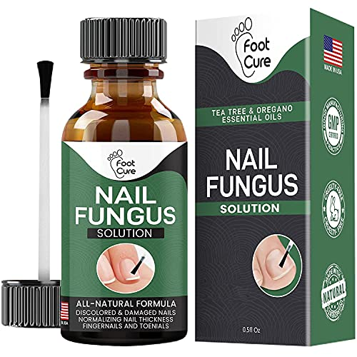 Foot Cure Extra Strong Nail & Toe Fungus Treatment - Made In USA, Best...