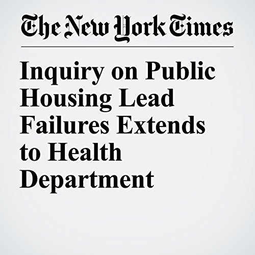 Inquiry on Public Housing Lead Failures Extends to Health Department copertina