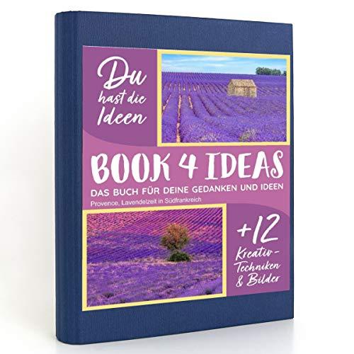BOOK 4 IDEAS modern | Provence, Lavendelzeit in Südfrankreich, Eintragbuch mit Bildern