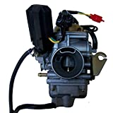 125cc 150cc Carburetor Scooter Moped Atv Go Kart Gy6 4-stroke 24mm Carb 26mm PD24