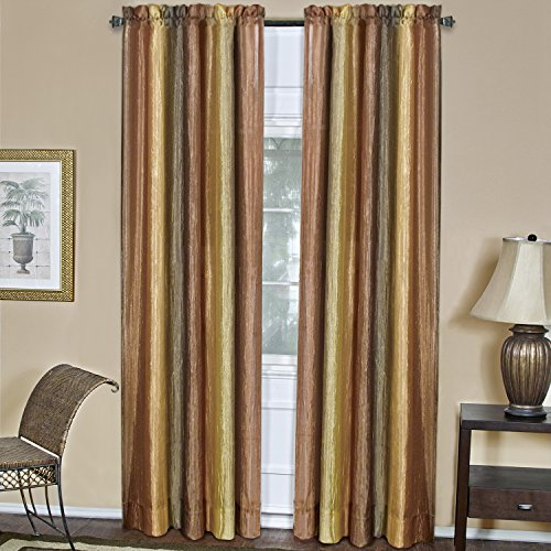 Achim Home Furnishings, Autumn Ombre Window Panel, 50 84-Inch, 50' x 84'