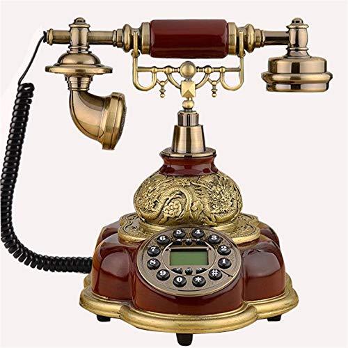 Lamyanran Telefono Fijo para la Decoración del Hotel en Casa Cable sin Cable gsm 900 / 1800MHZ Soporte SIM Tarjeta SIM Teléfono Fijo Teléfono inalámbrico Teléfono Home Office Hotel Red Telephone