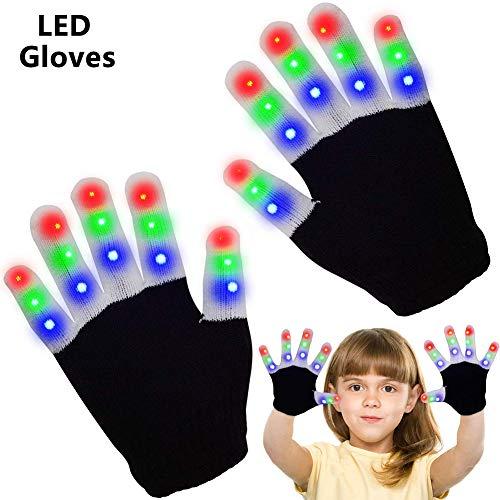 Leuchtende Handschuhe Kinder