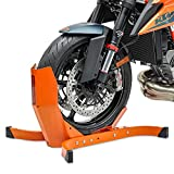 ConStands Motorcycle Paddock Stand ConStands Easy Plus-Motorcycle Stand Paddock Front Wheel Chock Transport Motorbike Rocker Universal Easy Plus