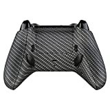 eXtremeRate Carbon Fiber Lofty Programable Remap & Trigger Stop Kit, Upgrade Boards & Redesigned Back Shell & Side Rails & Back Buttons & Trigger Lock for Xbox One S/X Controller Model 1708