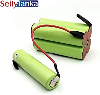 Seilylanka 3000mAh لBlack Decker 12V Ni MH Battery pack CD vacuum cleaner Dustbuster Pivot PV1205B - 12 فولت للتركيب الذاتي