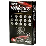 Manforce Super XXX Dotted Litchi Flavoured Condoms - 10 Pieces Per Packet (2) by GladnessEra