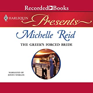 The Greek's Forced Bride audiobook cover art