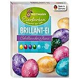 Heitmann - Colori per Uova Brillanti, Colori fluidi con Effetto Lucido, dipingere Uova di Pasqua