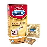 Durex Natural Feeling Kondome – Latexfreie Kondome für ein natürliches Haut an Haut Gefühl –...
