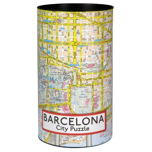 Serie Citypuzzle, Puzzle 200 piezas, Barcelona (18473)
