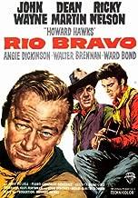 Rio Bravo Movie Poster (27 x 40 Inches - 69cm x 102cm) (1959) -(John Wayne)(Dean Martin)(Angie Dickinson)(Ricky Nelson)(Walter Brennan)(Ward Bond)
