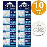 DNA CR1620 - Pilas de botón de Litio (10 Unidades, 3 V)