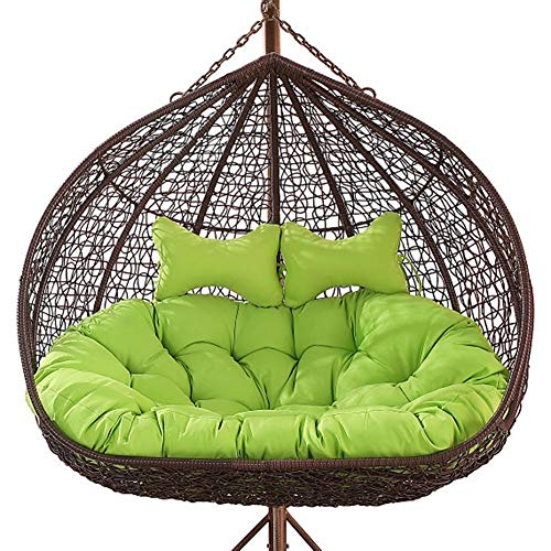 Easy-topbuy Soft Cotton Cushion For Swing Chair(No Chair), Thickened Balcony Egg Nest Chair Pad, Hammock Chair Cushion, Basket Swing Seat Mat 150x110x16CM