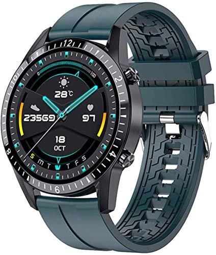 hwbq Reloj Inteligente Hombres s Y Mujeres s Deportes Reloj Soporte Fitness Tracker Monitor Smartwatch para Android-D