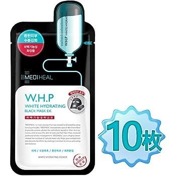 【正規品】 メディヒール(Mediheal) W.H.P 美白水分 ミネラル 炭 マスクパック (10枚)