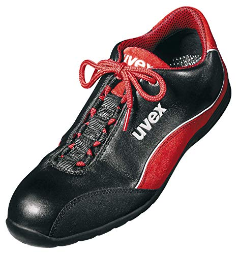 Uvex Uvex Motorsport Arbeitsschuhe - Sicherheitsschuhe S1 SRA - Rot-Schwarz, Größe:38