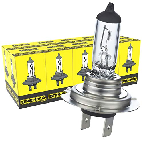 10x Brehma H7 Halogen Lampe Autolampe 12V 55W PX26d Scheinwerfer Lampe Ersatzlampen Abblendlicht Fernlicht Nebellicht