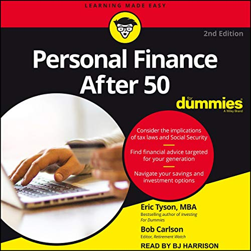 Couverture de Personal Finance After 50 for Dummies
