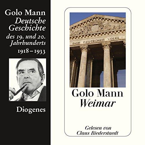 Weimar audiobook cover art