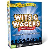 North Star Games Wits & Wagers Board Game   Family Edition, Kid Friendly Party Game and Trivia