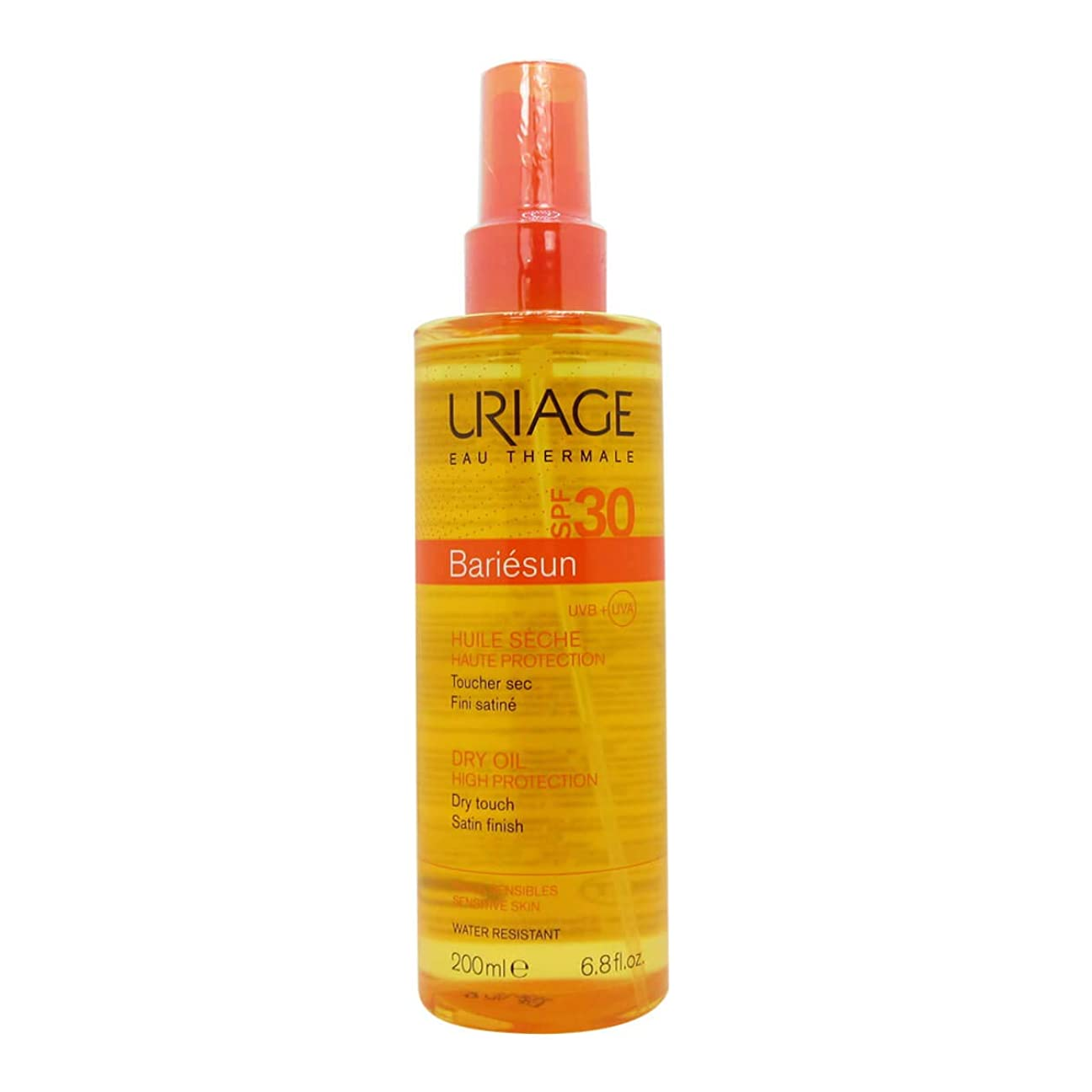 キュービック入る出口Uriage Bariesun Dry Oil SPF30 200ml
