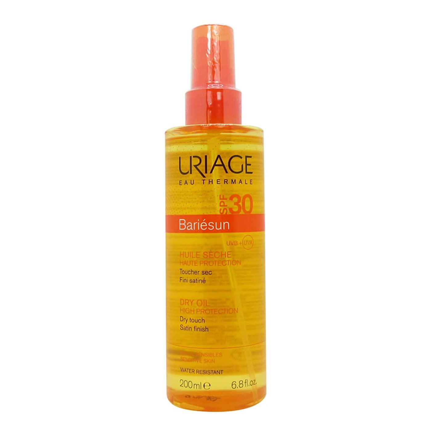 証明ペネロペなぜならUriage Bariesun Dry Oil SPF30 200ml