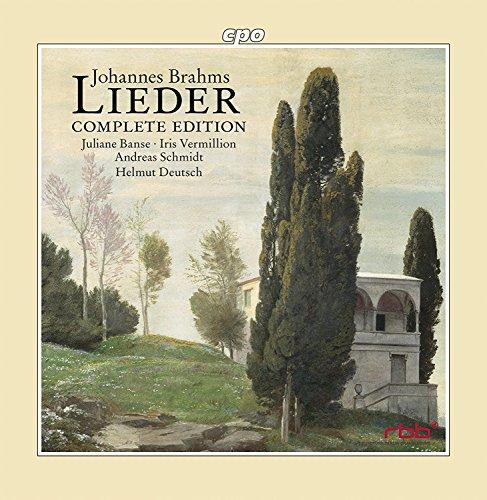 Brahms : Intégrale des lieder. Banse, Vermillion, Schmidt, Deutsch.