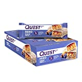 Quest Nutrition Blueberry Cobbler Hero Protein bar, Low Carb, Gluten Free, 10Count