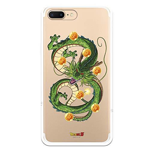 Custodia per iPhone 7 Plus - iPhone 8 Plus Ufficiale Dragon Ball Drago Shen Lon per proteggere il tuo telefono cellulare Cover per Apple in silicone flessibile con licenza ufficiale Dragon Ball