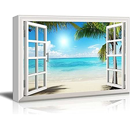 Wall26 Beautiful Tropical Beach Gallery Canvas Art Wall Art 24 X 36 Posters Prints