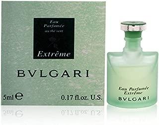 BVLGARI Eau Perfume Au The Vert Extreme Eau De Toilettes Mini, 0.17 Ounce