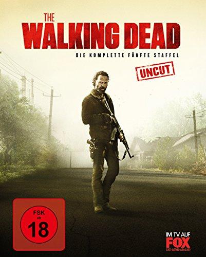 The Walking Dead - Staffel 5 (Uncut) (Limited Postcard Edition) [Blu-ray]