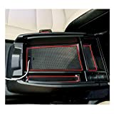 YEE PIN 2020 Escape Center Console Organizer Tray Escape Armrest Tray Armrest Box Secondary Storage Insert ABS Materials Tray Compatible with 2020 2021 Escape Hybrid Console Tray