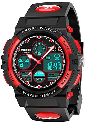 Let\'s sucher Geschenk für Jungen 6-15 Jahre, Weihnachten Geschenk für Kinder LED 50 Armbanduhr Mädchen Spielzeug für Jungen 5-15 Jahre Elektronisches Gastgeschenke für Jungen 6-15 Jahre Jungen