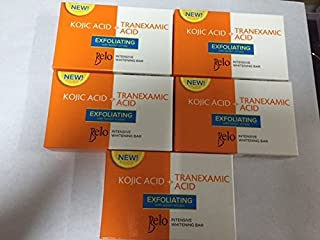 belo kojic soap with lemon