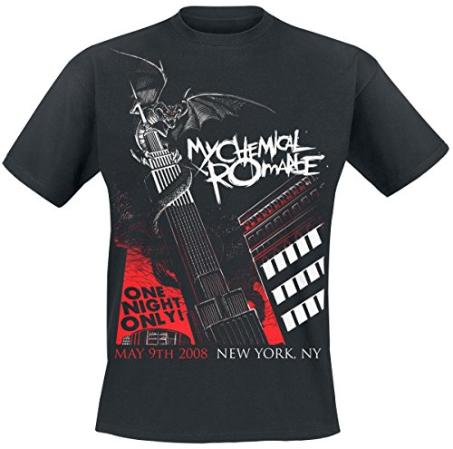 My Chemical Romance T Shirt Official Dragon NYC (Nero) - Large