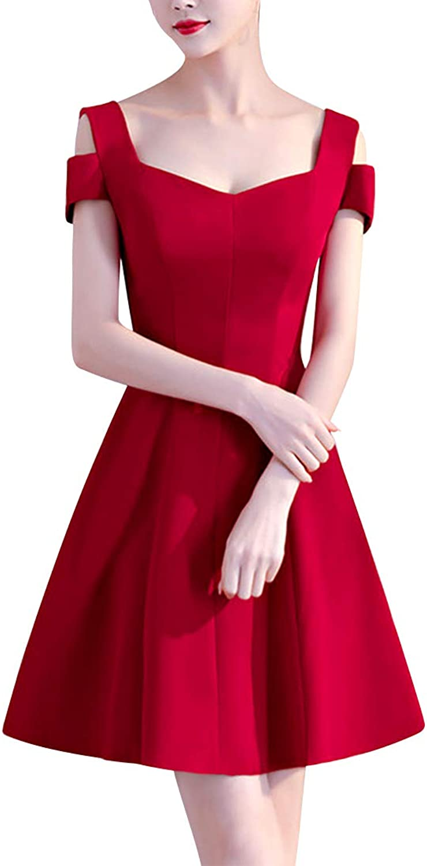 Women's Slim ALine Evening Party Dress Bridesmaid Dress (Size   XL)