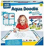 Ravensburger ministeps 4177 Aqua Doodle Limited Edition, Magische Malmatte zum Malen mit Wasser, ca 50 x 50 cm, Sonderausgabe mit 2 Stiften und 4 Ausmalbildern, Spielzeug ab 18 Monate
