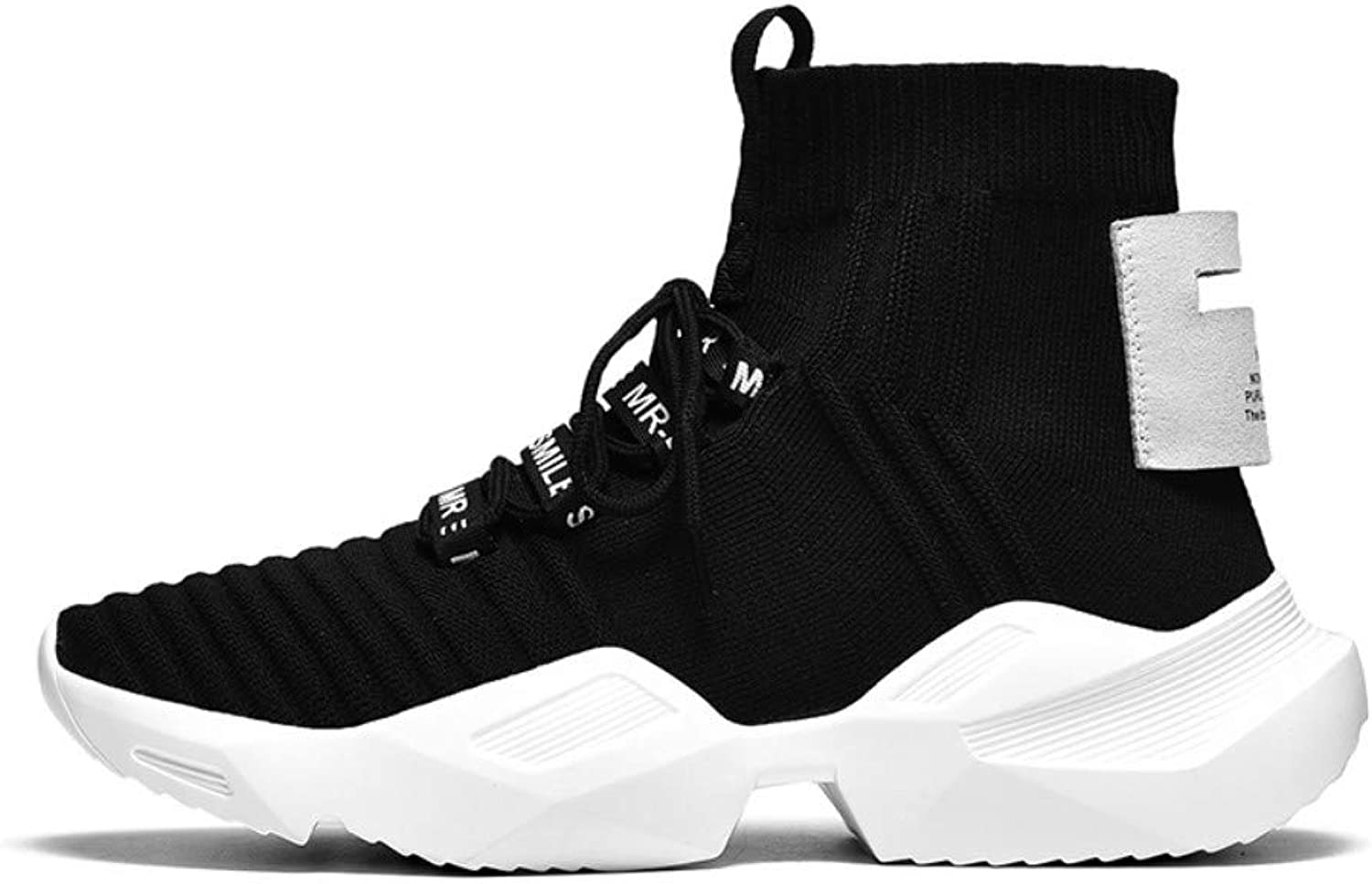 YYAMO shoes Sport shoes High-Top Socks shoes Tide Couple shoes Breathable Casual shoes Riding Travel Gym Jogging Walking Outdoor Running