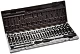 Grey Pneumatic (89653CRD) 1/4' Drive 53-Piece 6-Point Fractional and Metric Duo Socket Set