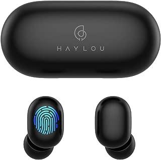 完全ワイヤレスイヤホン Haylou Bluetooth 5.0 自動ペアリング ブルートゥース マイク付き カナル 高音質 両耳 片耳 ハンズフリー 通話 防水 イヤホン ワイヤレス ヘッドホン ヘッドセット 長時間 iPhone Android対応