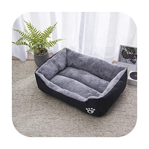 Cama de perro de cinco colores sofá cachorro colchón bulldog perro grande accesorios impermeable cojín banco gato sofá mascotas suministros 2-S 50x40cm