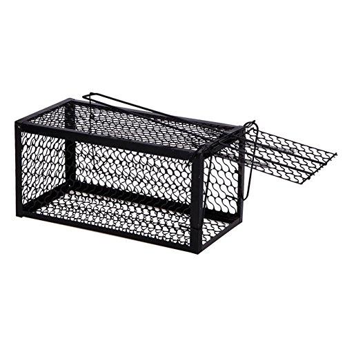 Feiledi Trade Pièges Sensibles De Cage De Piège De Rat De Piège De Cage De Piège De Chat De Piège De Ménage D'Organe en Métal, Pièges à Souris