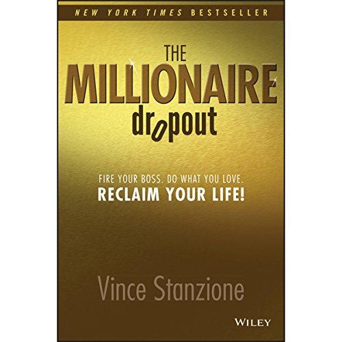 The Millionaire Dropout audiobook cover art